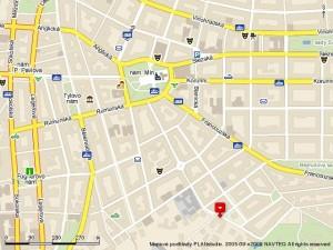 Mapa - Koperníkova 2