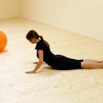 Pilates: Labuť - záklon s pevným středem