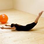 Pilates: Ponoření labutě