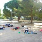 Jogalates - cvičení záklonu