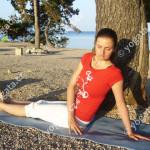 zkrut páteře - Jogalates Yogata