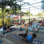 rolování - Pilates u moře - Yogata Praha