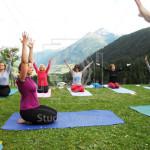 rozdýchávání - jóga v Alpách - Yogata Praha