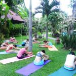 Cvičení u moře / Pemuteran / Yogata